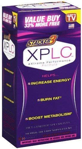 Stacker 3 XPLC Extreme Performance Formula, Capsules-80 ea