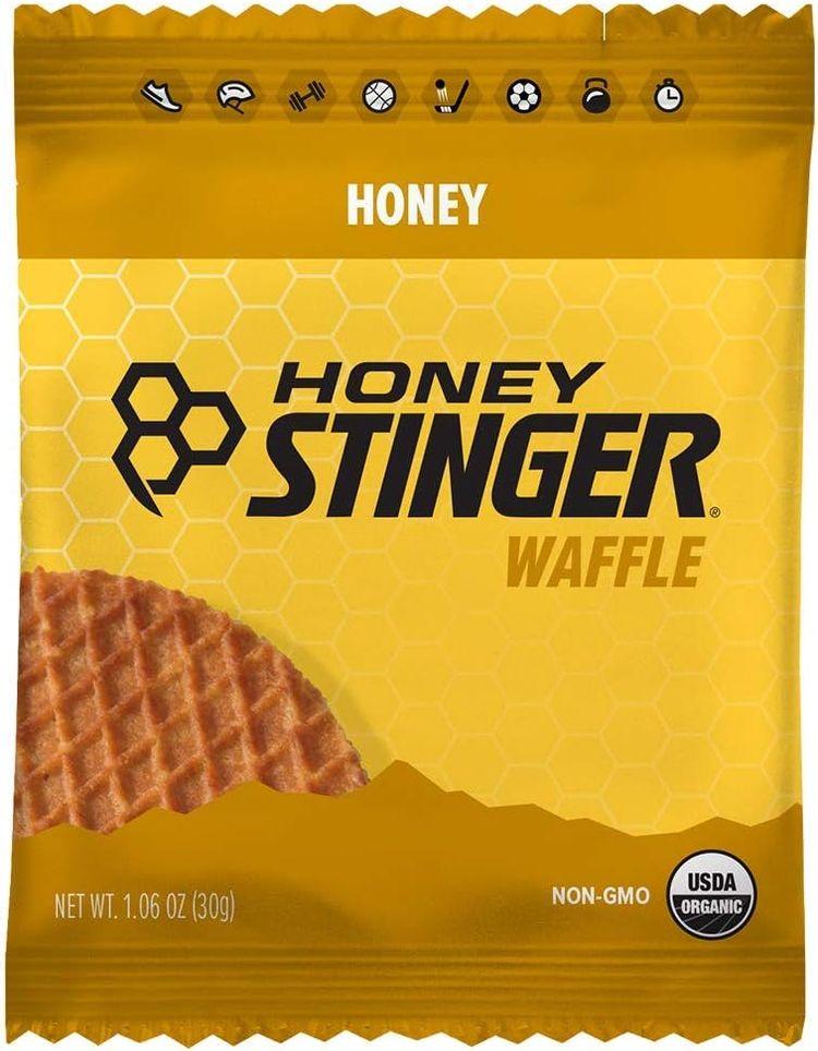 Honey Stinger Organic Waffle, Honey, Sports Nutrition, 1.06 Ounce (16 Count)