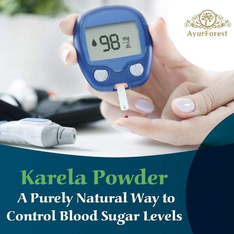 AyurForest Karela Powder, Momordica charantia | Bitter Melon | Bitter Gourd 16 oz 454 GMS, All Natural Non-GMO, Balanced Blood Sugar Level, Healthy Digestion and Boosting Immunity