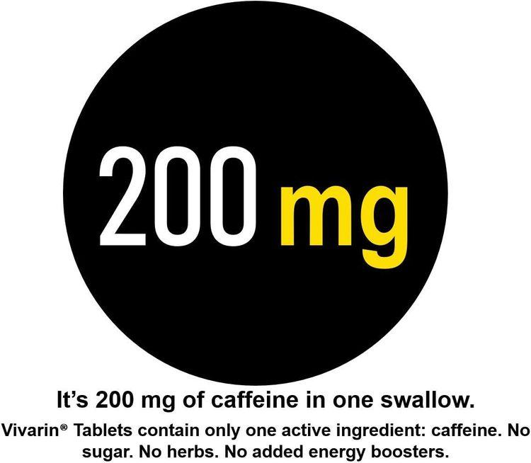 Vivarin Brand Alertness Aid, 40 Tablets