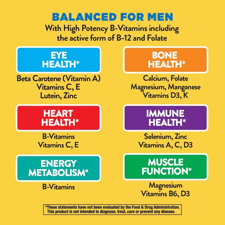 Nature's Way Alive! Once Daily Men's Multivitamin, Ultra Potency, Food-Based Blends (60 mg per serving), 60 Tablets
