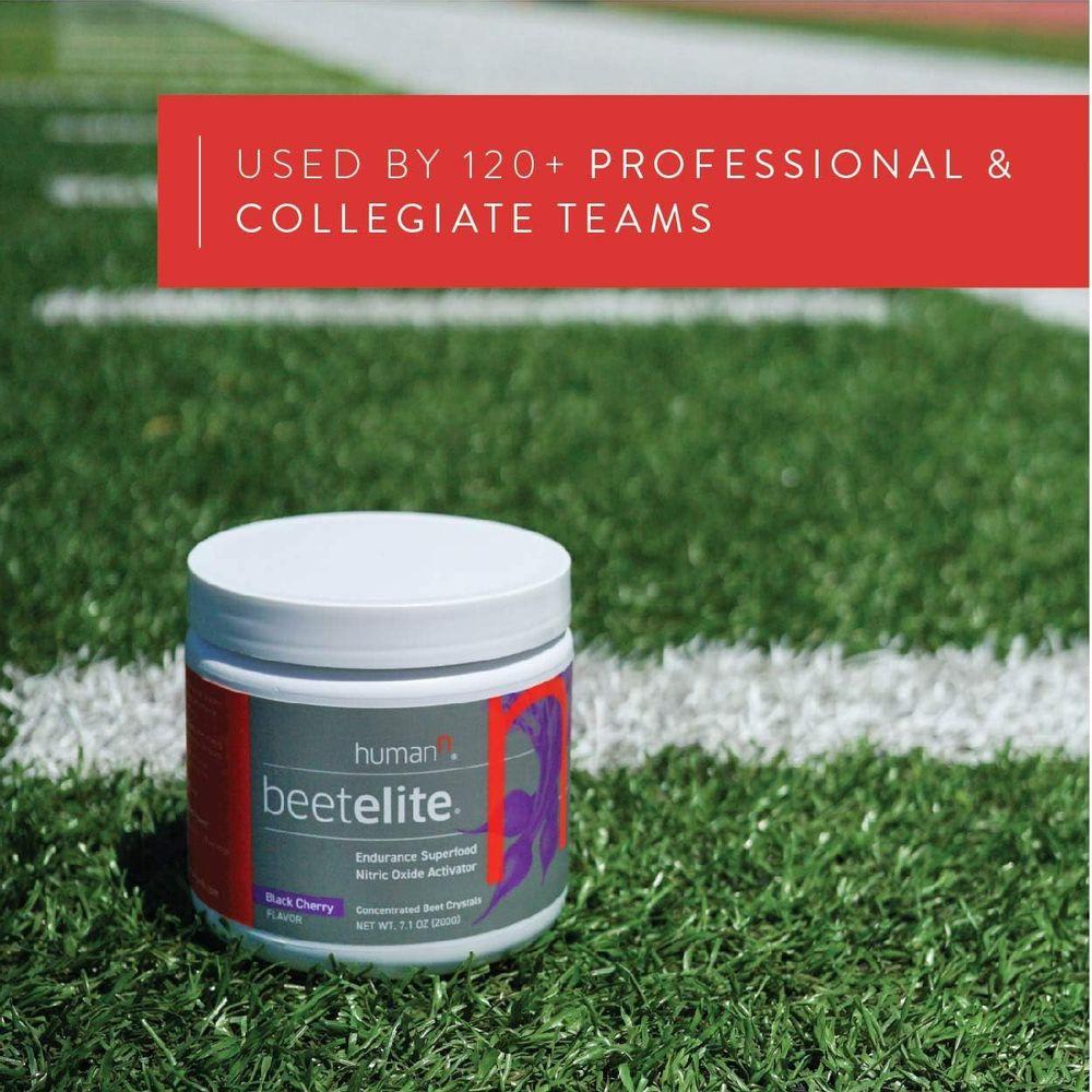 BeetElitePlant-Based Pre Workout Powder for Men & Women - Caffeine Free,Creatine Free & Vegan Friendly Nitric Oxide Booster - Black Cherry, 7.1 oz