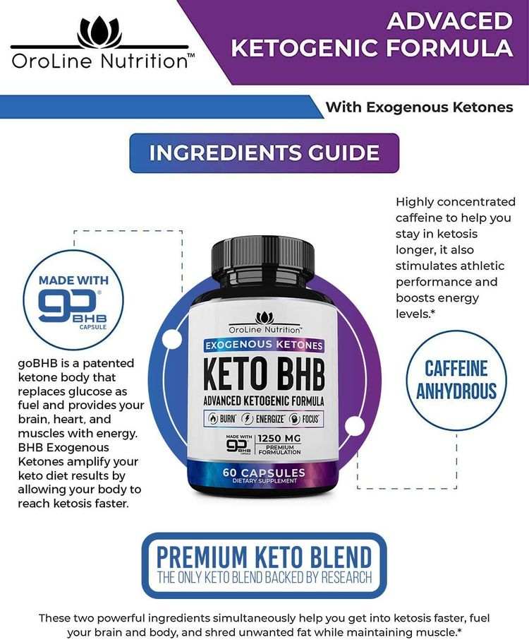 Keto Pills - [2 Pack | 120 Capsules] Advanced Keto Burn Diet Pills - Best Exogenous Ketones BHB Supplement | Keto BHB Diet Pills for Women and Men - Max Strength Boost