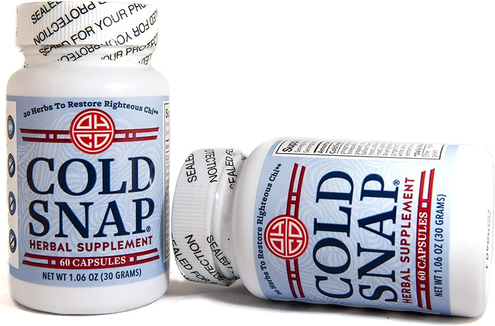 OHCO Cold Snap Herbal Supplement 60 Capsules, 2 Pack