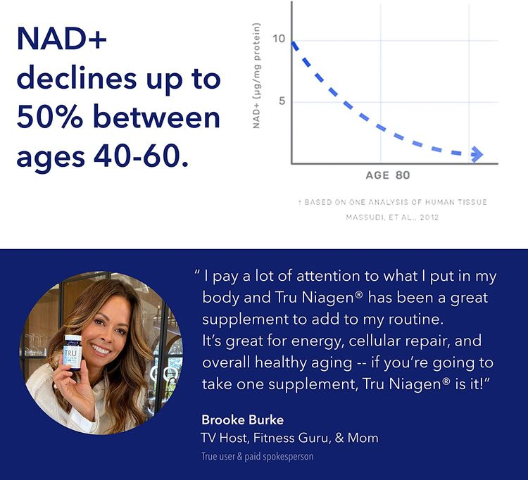 NAD+ Supplement More Efficient Than NMN - Nicotinamide Riboside for Energy, Metabolism, Vitality, Muscle Health, Healthy Aging, Cellular Repair (Patented Formula) 90ct - 300mg (3 Months / 1 Bottle)