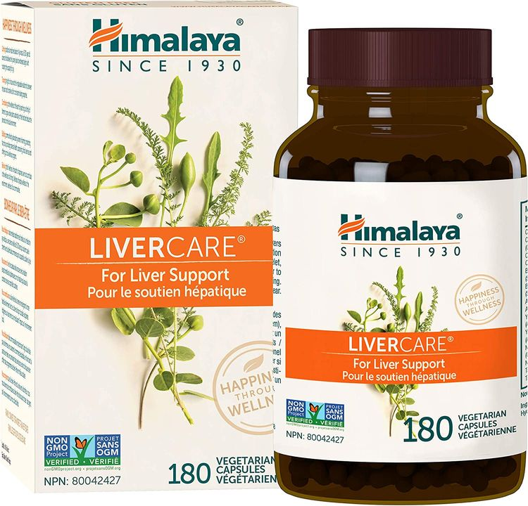 Himalaya LiverCare for Liver Cleanse and Liver Detox 375 mg, 180 Capsules, 90 Day Supply