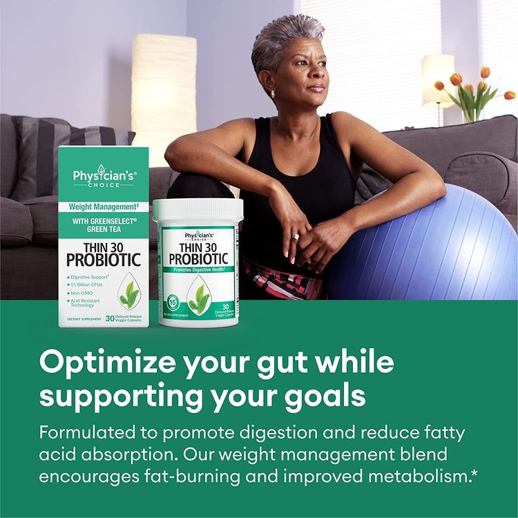 Probiotics for Women - Detox Cleanse & Weight Loss Support - Clinically Studied Greenselect- Organic Prebiotics, Digestive Enzymes, Apple Cider Vinegar, Green Tea Extract, Cayenne - 30 Capsules