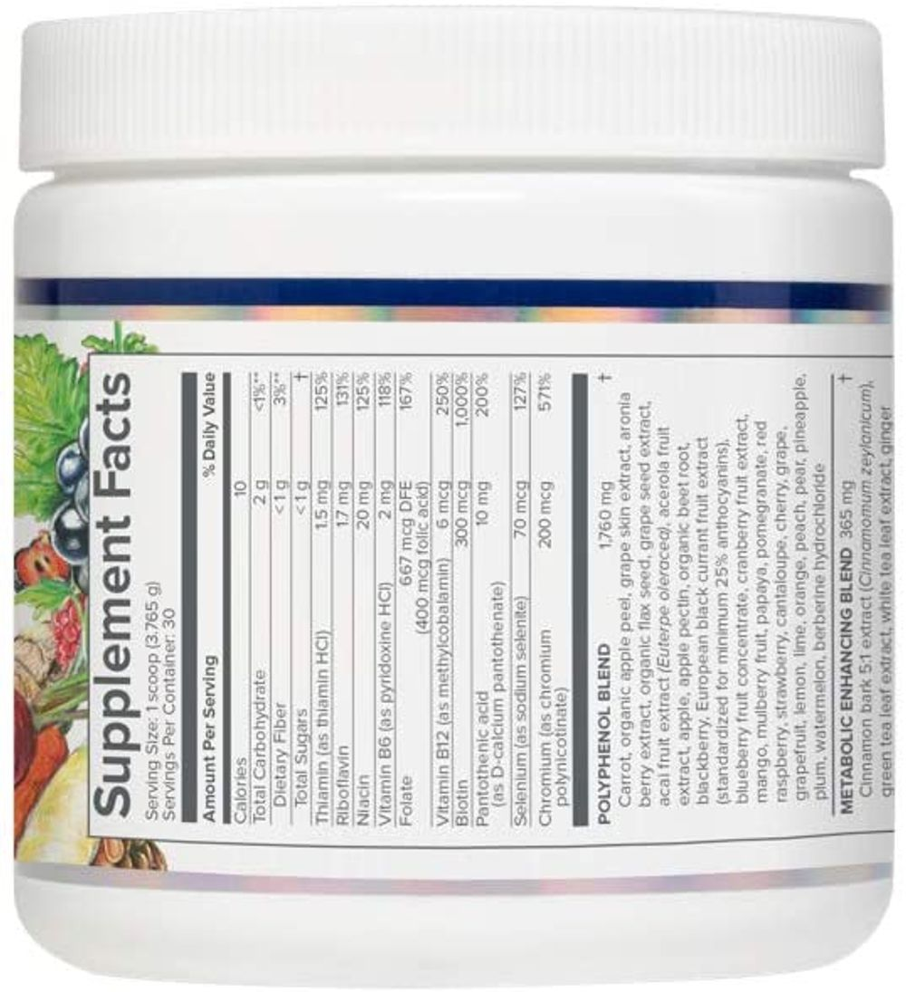 Gundry MD® Vital Reds® Concentrated Polyphenol Blend, 30 Servings