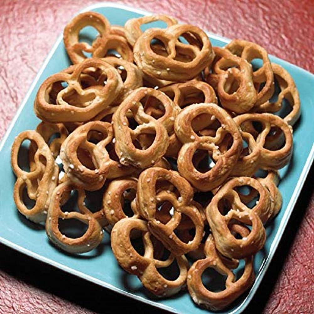 Pretzel Protein Twists   7 Bags   Low Fat, Low Carb, KETO Diet Friendly, Low Calorie Diet Snack