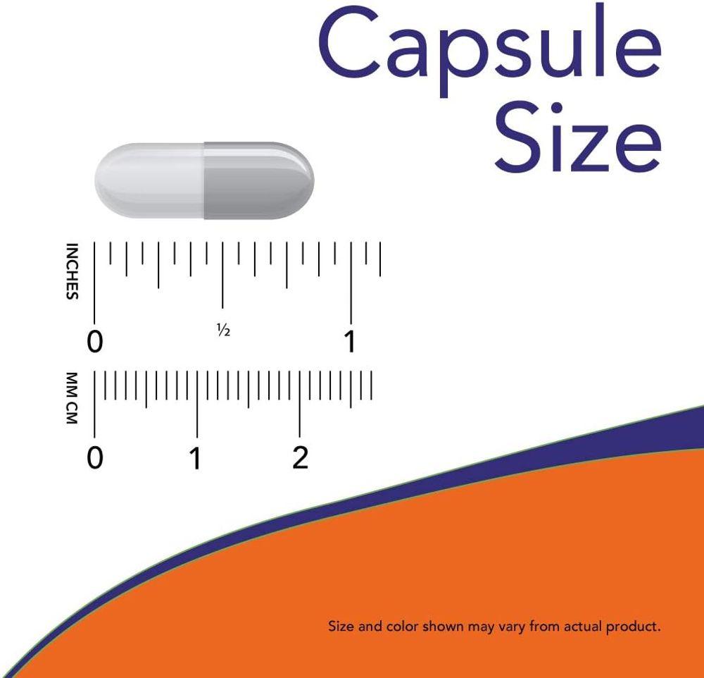 Now Foods Supplements, L-Glutamine 500 mg, Nitrogen Transporter, Amino Acid, 120 Veg Capsules, White