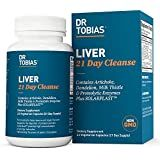 Dr. Tobias Liver 21 Day Cleanse, Cleanses Liver and Supports Digestion, 63 Vegetable Capsules (3 Daily)