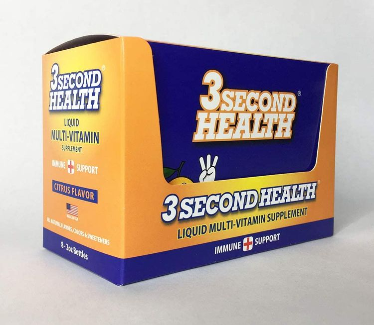 3 Second Health Liquid Multi-Vitamin Individual Shots