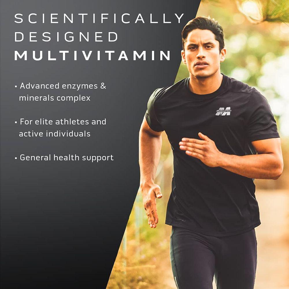 Multivitamin for Men   MuscleTech Platinum Multivitamin   Vitamin C for Immune Support   18 Vitamins & Minerals   Vitamins A C D E B6 B12   Daily Workout Supplements   Mens Multivitamins, 90 ct