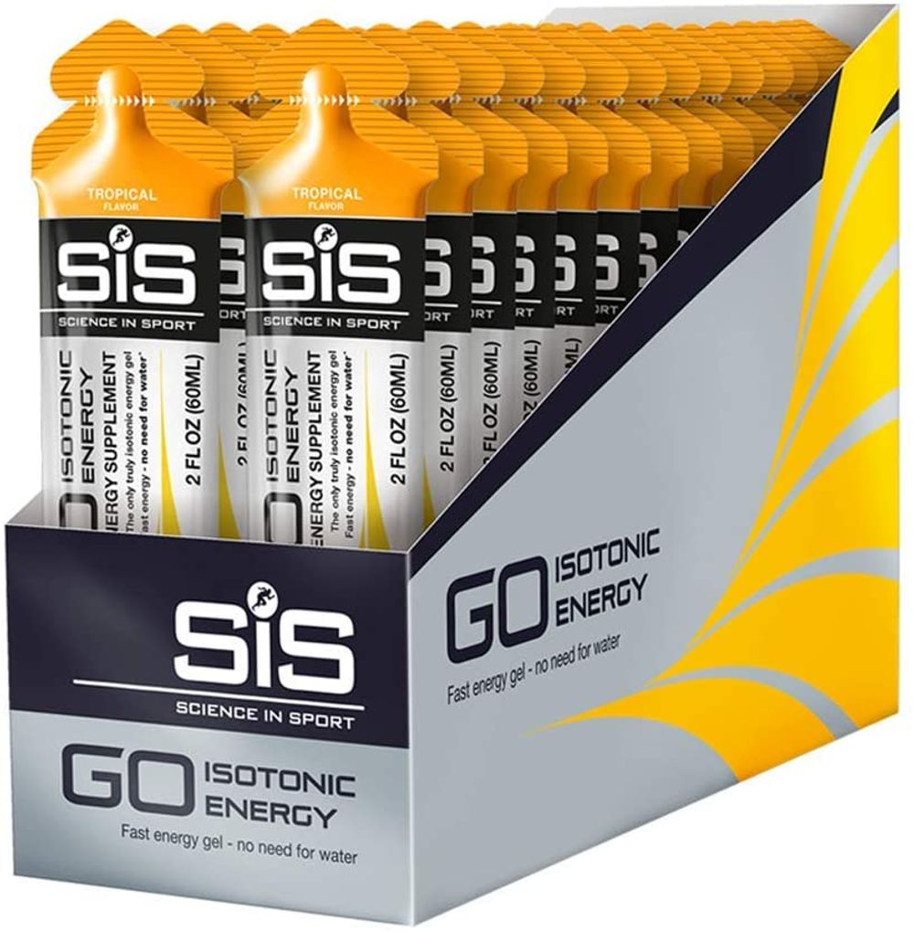 SCIENCE IN SPORT Isotonic Energy Gels, 22g Fast Acting Carbohydrates, Performance & Endurance Sport Nutrition for Athletes, Energy Gels for Running, Cycling, Triathlon, Cherry - 2 oz - 30 Pack