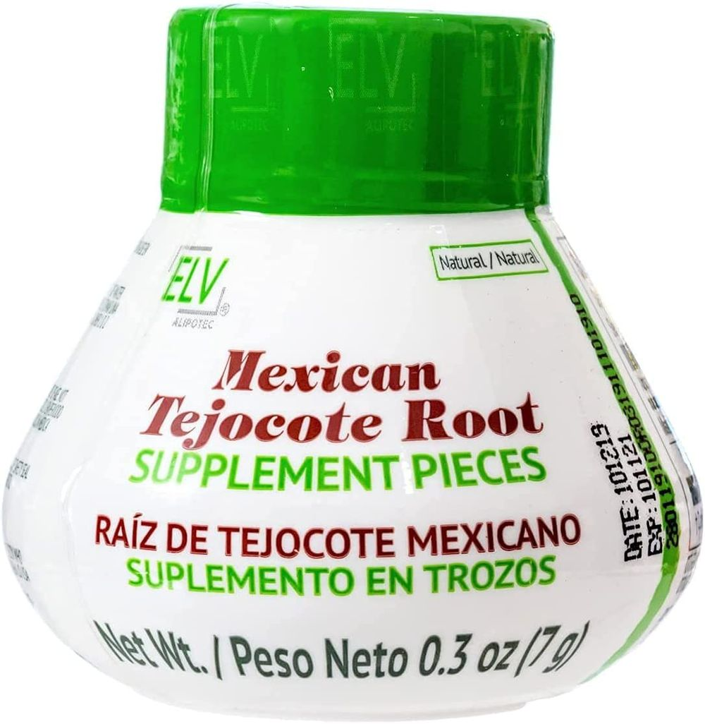 Alipotec ELV Tejocote Root Weight Loss- Original Design - 1 Bottle (3 Month Treatment) - Most Popular, All-Natural Weight Loss Supplement in Mexico
