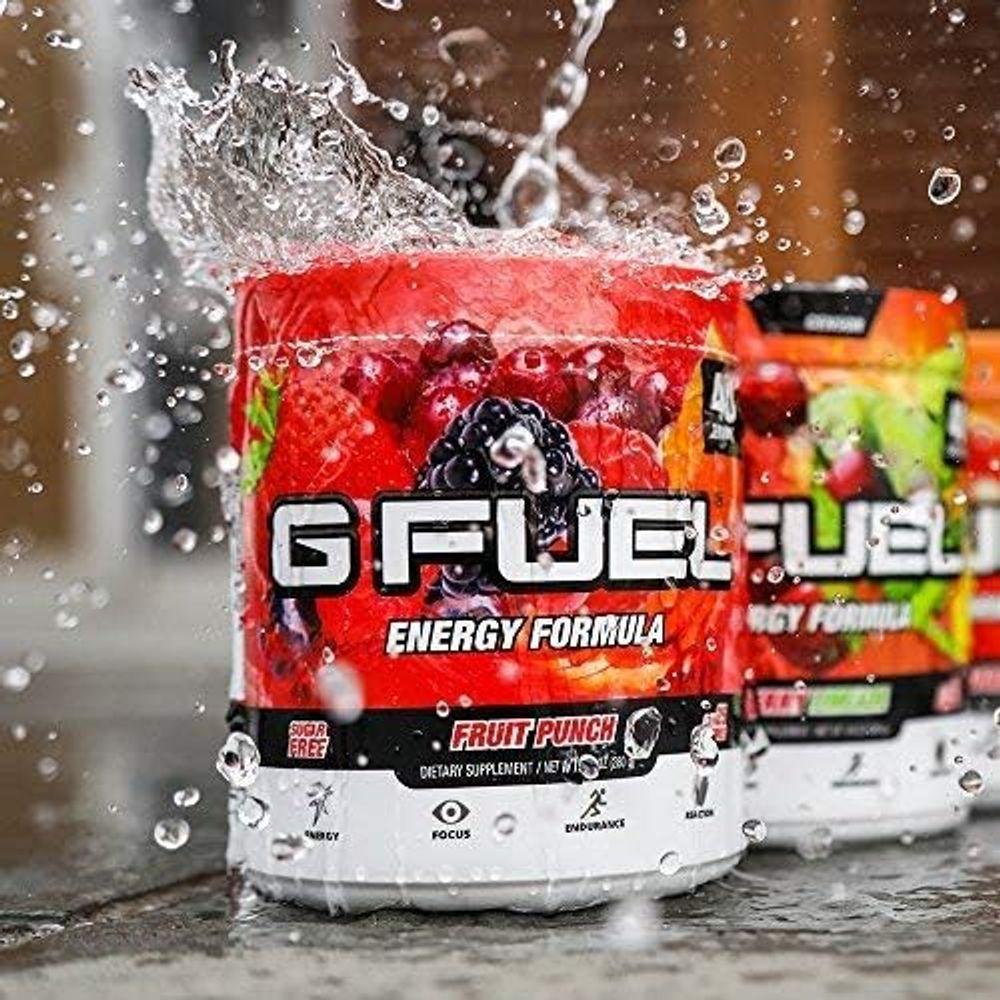 G Fuel Fruit Punch Tub (40 Servings) Elite Energy and Endurance Formula