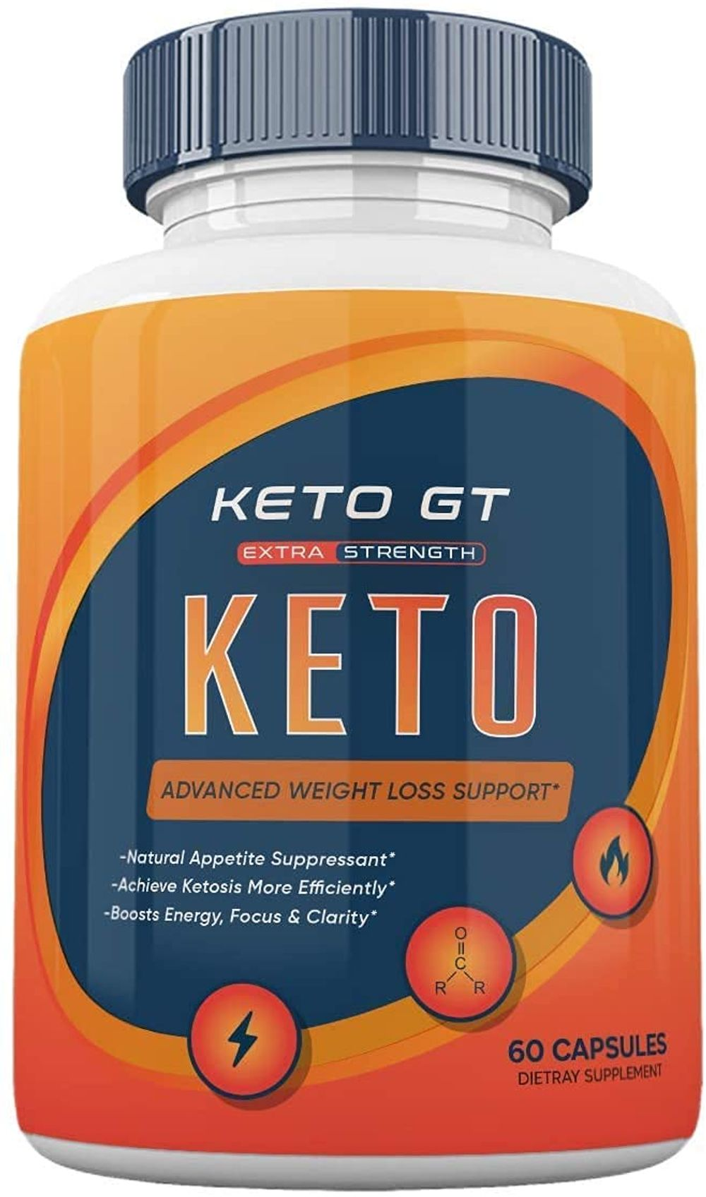 Keto GT Weight Manaement Pills Advanced Formula Pastillas dr Tablets 800mg BHB Supplement (60 Capsules)