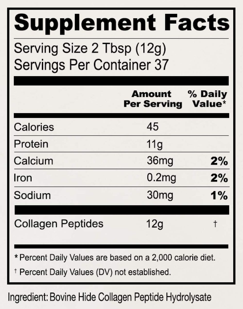 Anthony's Collagen Peptide Powder, 1 lb, Pure Hydrolyzed, Gluten Free, Keto and Paleo Friendly, Grass Fed, Unflavored, Non GMO,