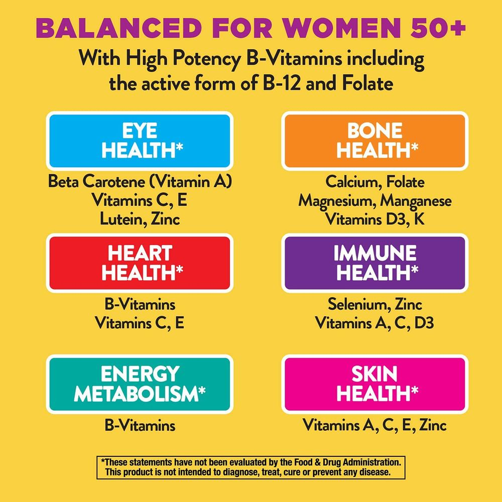 Nature's Way Alive! Once Daily Women's 50+ Ultra Potency
