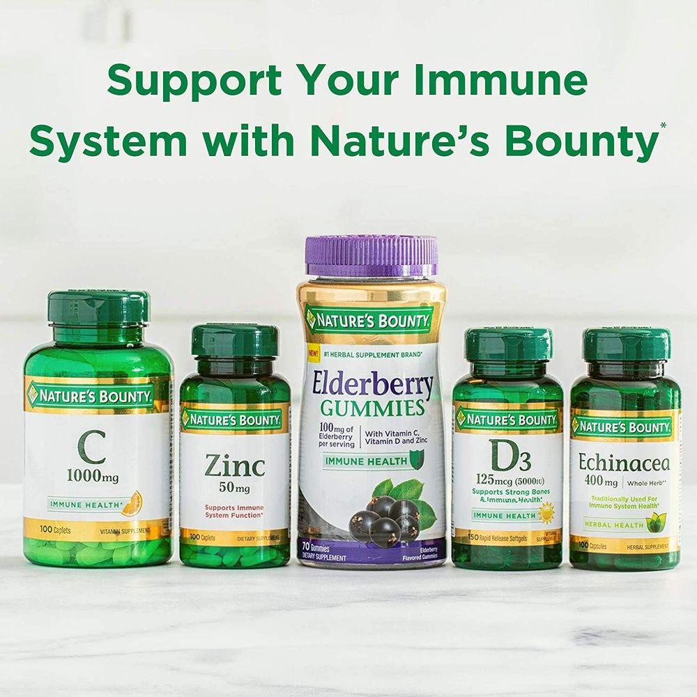 Vitamin E by Nature's Bounty, Supports Immune Health & Antioxidant Health, 60 Softgels