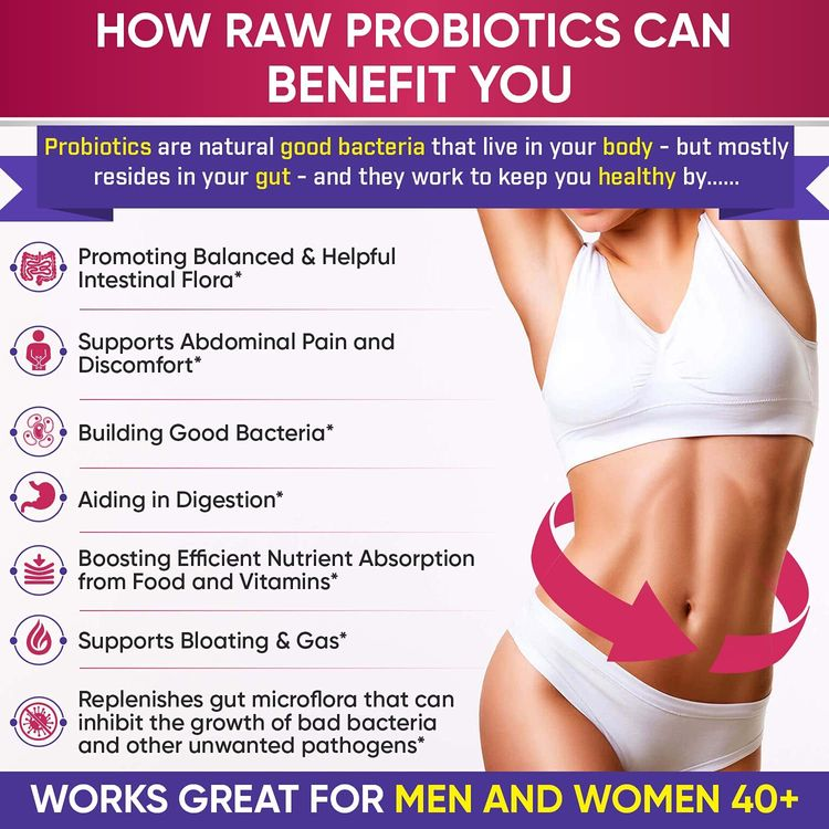 Dr. Formulated Raw Probiotics for Women 100 Billion CFUs with Prebiotics, Digestive Enzymes, & UT Support, Approved Women's Probiotic for Adults, Shelf Stable Probiotic Supplement Capsules