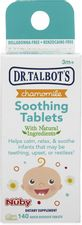Dr. Talbot's Chamomile Soothing Tablets, Quick Dissolve, 140 Count