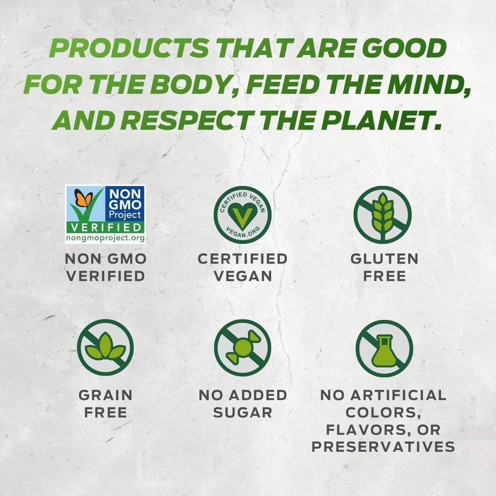 Vega Protein and Greens Vanilla (26 Servings, 26.8 Ounce) - Vegan Plant Based Protein Powder Shake, Gluten Free, Non Dairy, Non Soy, Non GMO