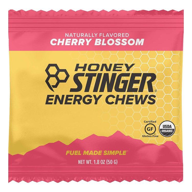 Honey Stinger Organic Energy Chews, Sports Nutrition, Cherry Blossom Cherry Blossom 1.8 Ounce (Pack of 12) 21.6 Ounce