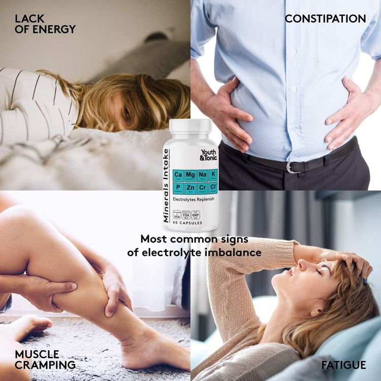 Water Weight Pills to Thin Waistline & Relief Belly Bloat Ankle & Leg Swelling + Electrolytes Support w/Potassium B6 VIT | Dandelion Natural Diuretic Supplement for Water Retention Loss | Woman & Men