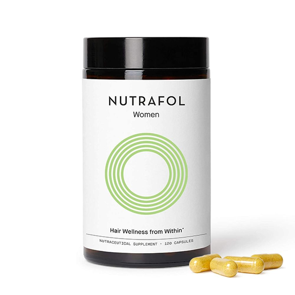 Nutrafol Women Hair Growth Supplement For Thicker, Stronger Hair (4 Capsules Per Day - 1 Month Supply)