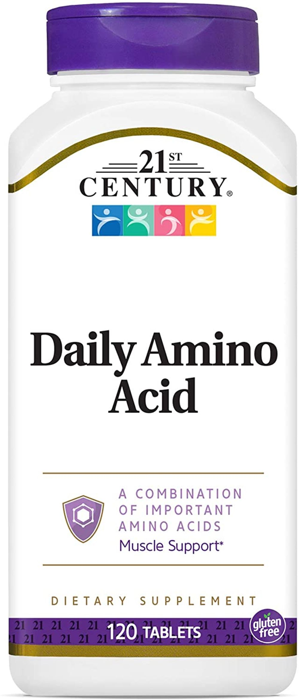 21st Century Daily Amino Acid Tablets, 120 Count
