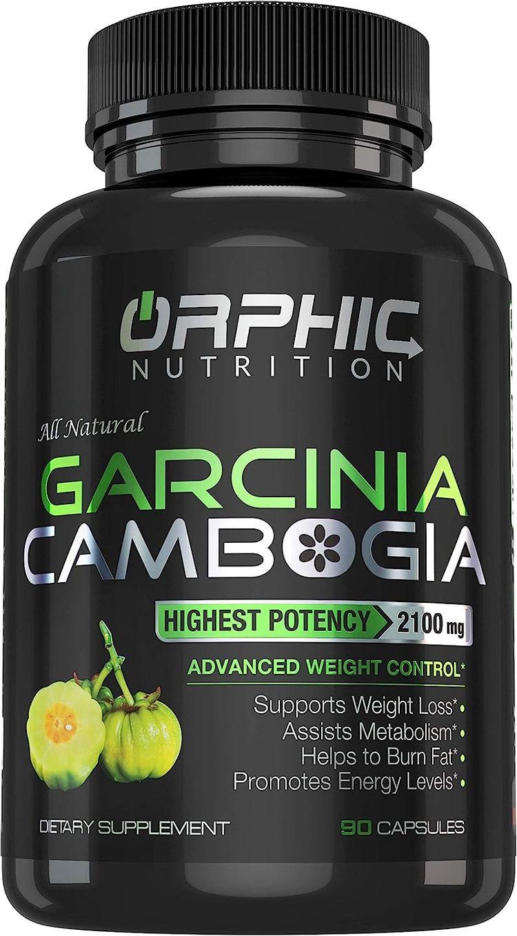 100% Pure Garcinia Cambogia Extract - Appetite Suppressant - Carb Blocker Capsules* - 2100 MG - 90 Caps