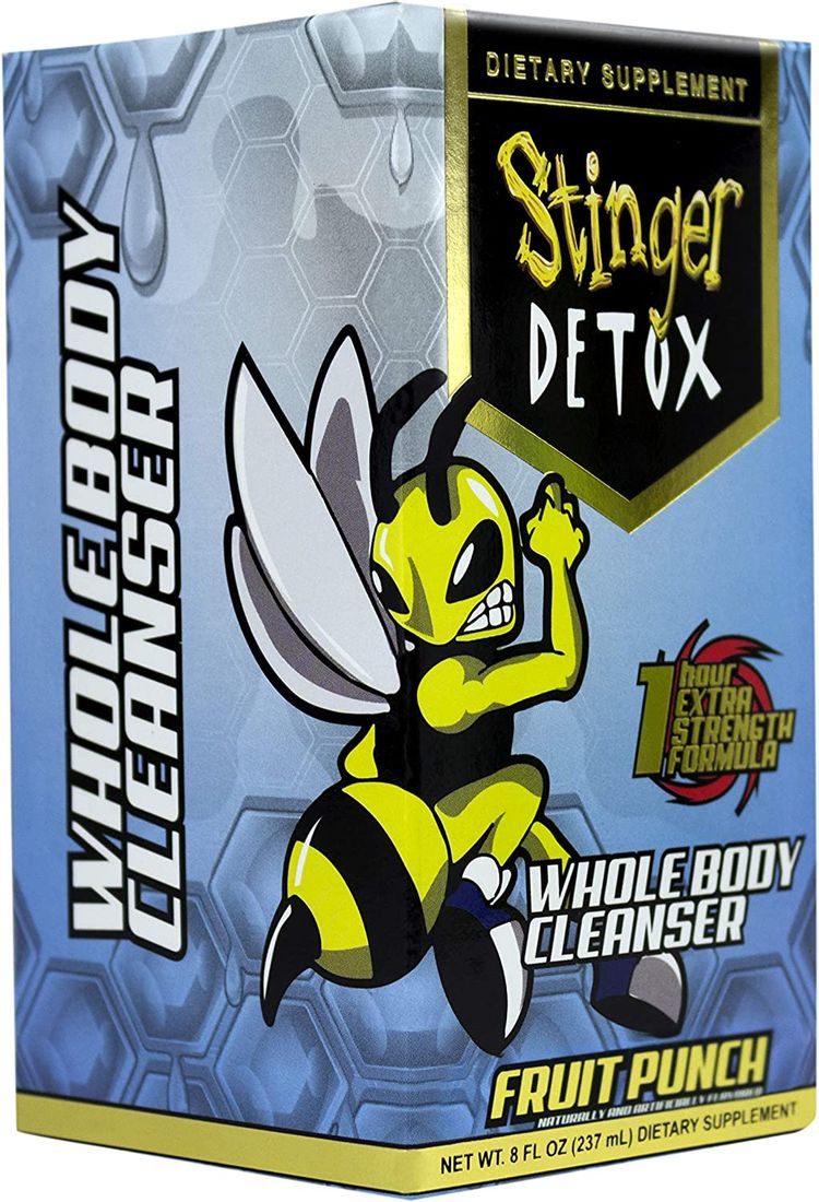 Stinger Detox Whole Body Cleanser 1 Hour Extra Strength Drink – Fruit Punch – 8 FL OZ
