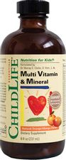 ChildLife Essentials Multi Vitamin and Mineral for Infants, Babys, Kids, Toddlers, Children, and Teens, 8-Ounce