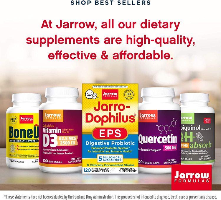 Jarrow Formulas Artichoke 500, Supports Liver and Cholesterol Metabolism, 500 mg, 180 Caps