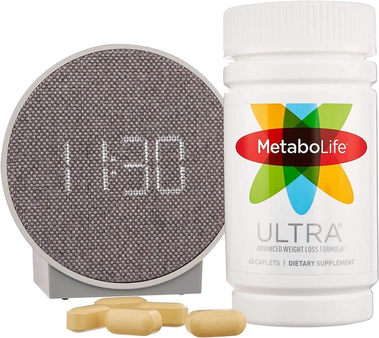 MetaboLife Ultra Advanced Weight Loss Formula - 100% Pure Fat-Burn Meratrim, Garcinia Cambogia, Caffeine - Reduce Your Waist and Manage Appetite for Faster, Lasting Fat Loss - 45 Caplets