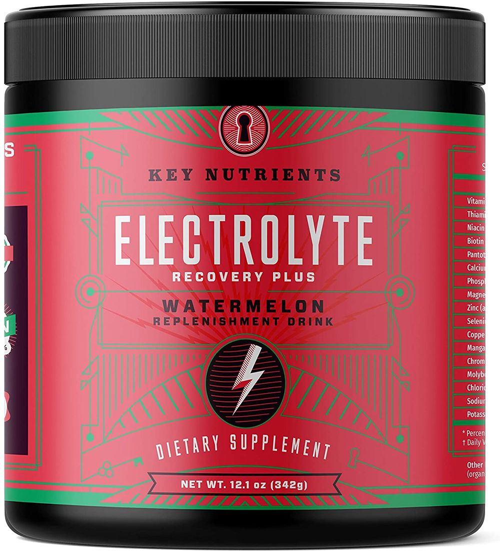 Electrolyte Powder, Watermelon Hydration Supplement: 90 Servings, Carb, Calorie & Sugar Free, Keto Replenishment Drink Mix. 6 Key Electrolytes - Magnesium, Potassium, Calcium & More.