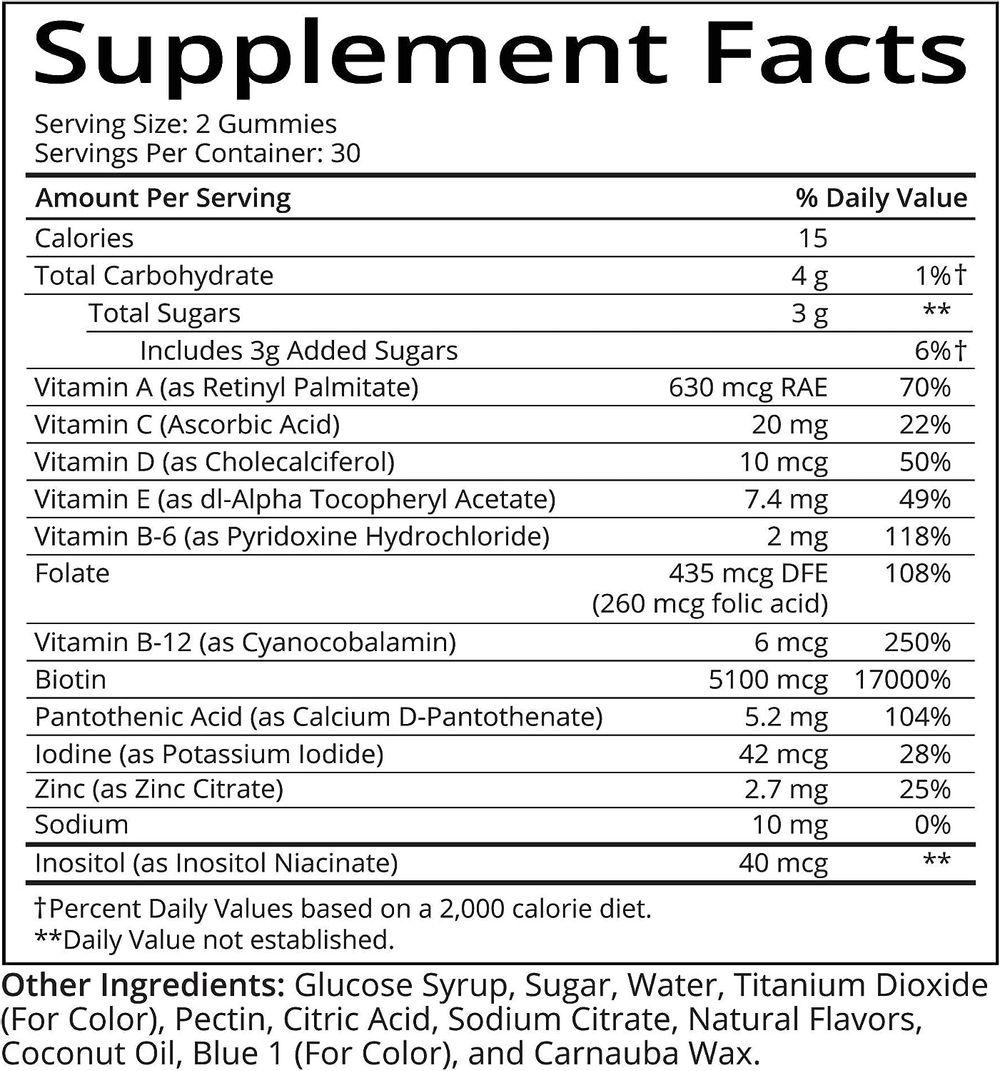 SugarBear Vitamins (Beauty Bears)