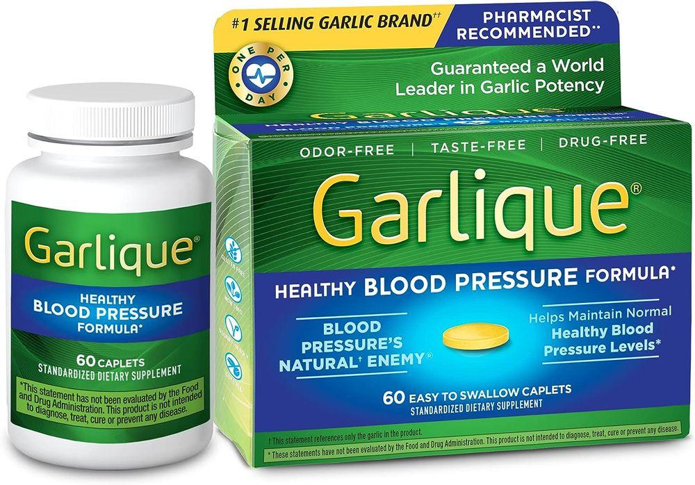 Garlique Healthy Blood Pressure Formula 60 ct