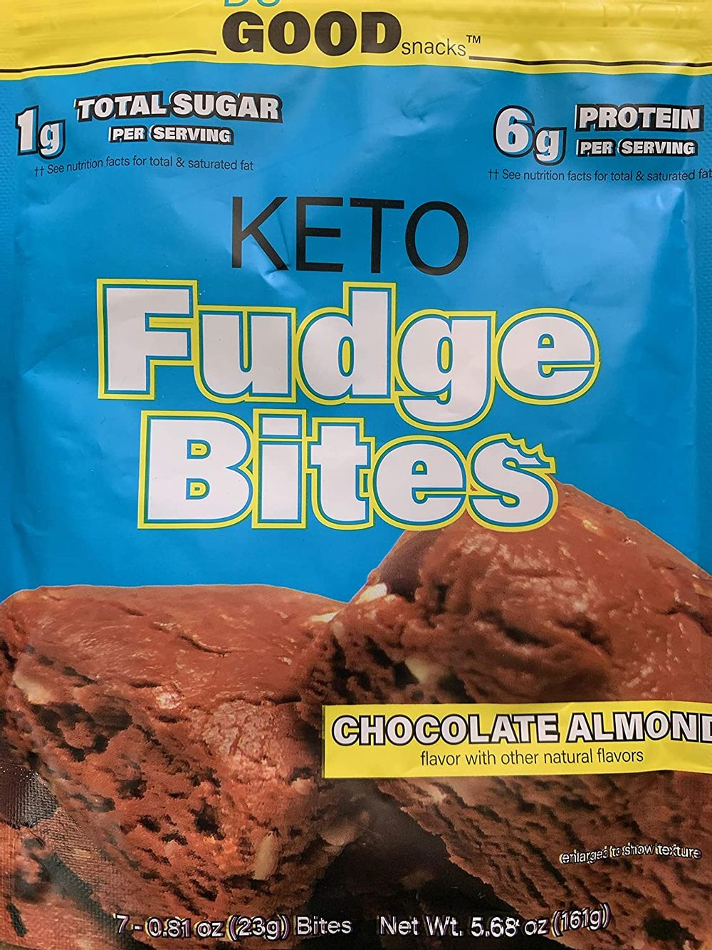 Keto Fudge Bites - Delicious Low-Carb to-go Chocolate Snacks | Non GMO, Gluten Free, Paleo Togo Snack Made with Grass-Fed Whey Protein | Ketogenic Diet Friendly Treats (7 Bites) - Bonus EBOOK