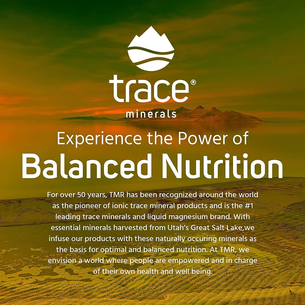 Trace Minerals Hydration I.V Electrolyte Powder Packets (Raspberry Lemonade, 16 Count) - Full Spectrum Mineral Mix to Ensure Rapid Rehydration, Increase Energy, Stamina and Muscle Recovery | Non GMO
