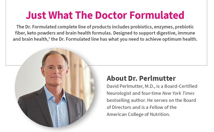 dr. perlmutter credentials