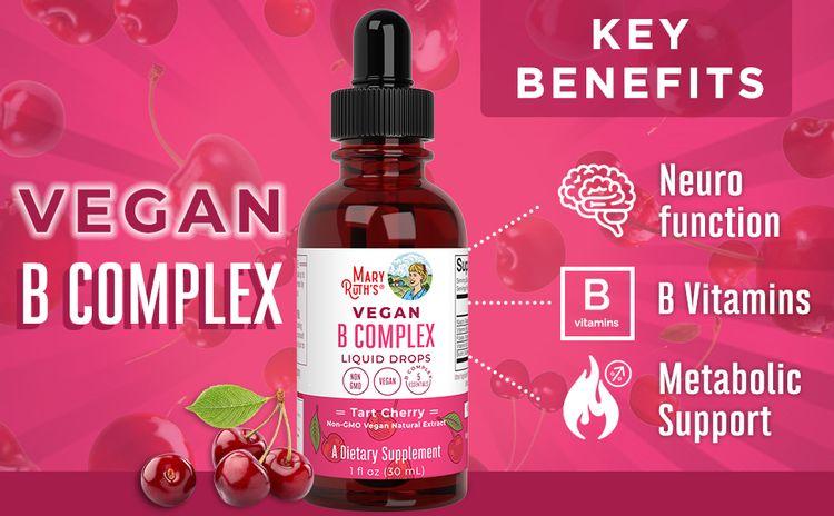 Vegan B Complex Liquid Drops by MaryRuth's
