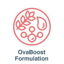 ovaboost for women hcg supplement egg support egg health ovulation supplements for women boost