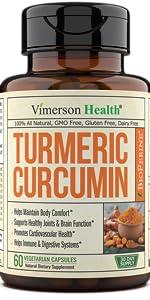 Turmeric Curcumin with BioPerine Black Pepper Extract