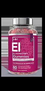 Elderberry Gummies comparison module