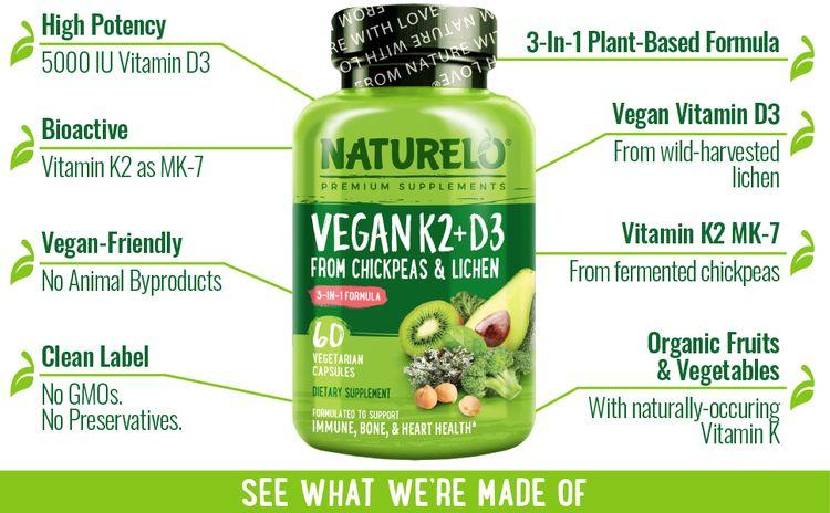 plant based, vitamin, vegan, lichen