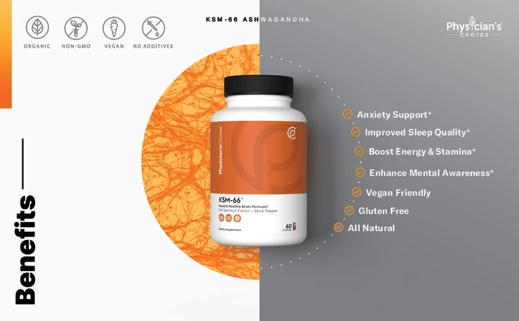 Anxiety Relief, Thyroid Support, Stress Relief, Improved Memory, Cognitive Function, Vegan, Organic