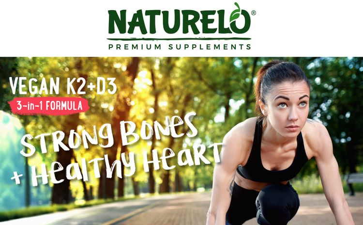 naturelo, vitamin k2 d3, d3, k2