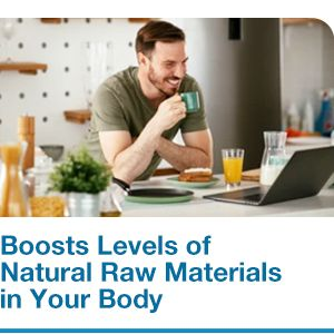 boost natural raw materials in body